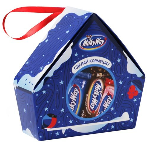 Набор конфет Milky Way Кормушка 155 г подарочный набор milky way кормушка 155 г