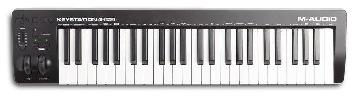 MIDI-клавиатура M-Audio Keystation 49 MK3 — купить по выгодной цене на Яндекс.Маркете