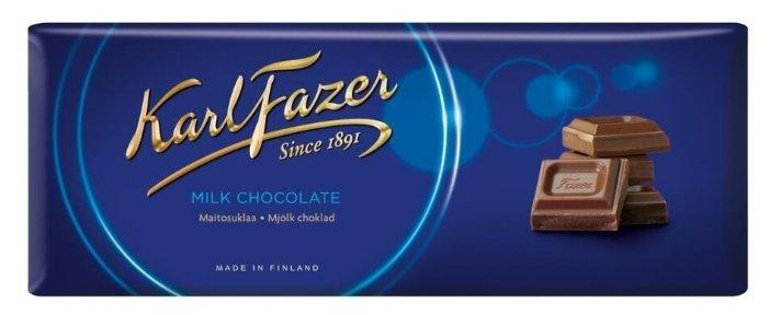 Шоколад Karl Fazer молочный