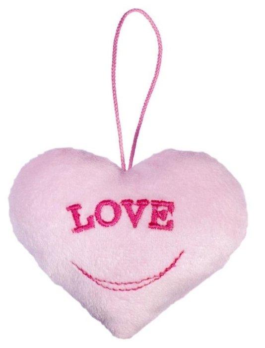 Игрушка-брелок Fancy Сердце розовое 10 см