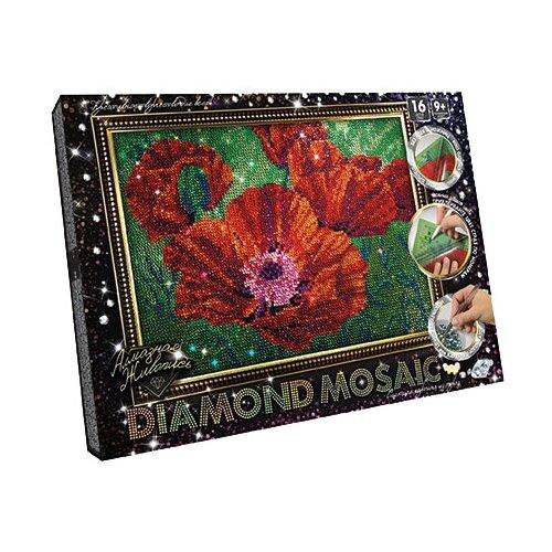 Купить Danko Toys Набор алмазной вышивки Diamond Mosaic Маки (DM-02-04) 20х30 см, Алмазная вышивка