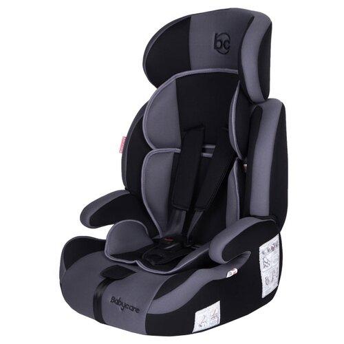 Автокресло группа 1/2/3 (9-36 кг) Baby Care Legion, black/grey 1023
