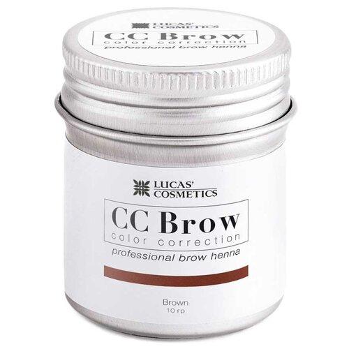 CC Brow Хна для бровей в баночке 10 г brown недорого