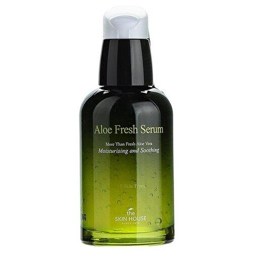 The Skin House Aloe Fresh Serum Увлажняющая и успокаивающая сыворотка для лица с экстрактом алоэ, 50 мл