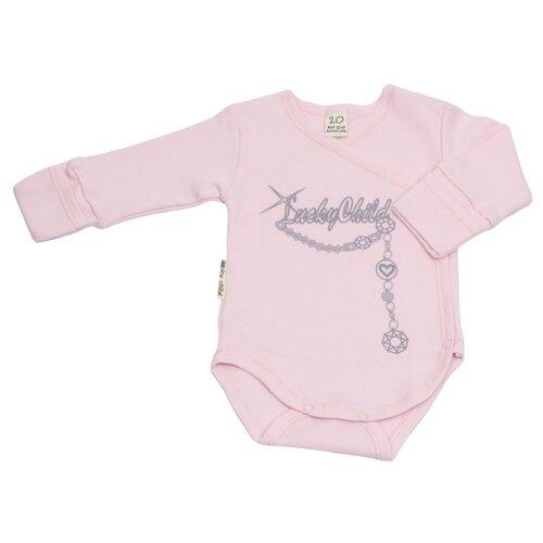 Боди lucky child размер 22, розовыйБоди<br>