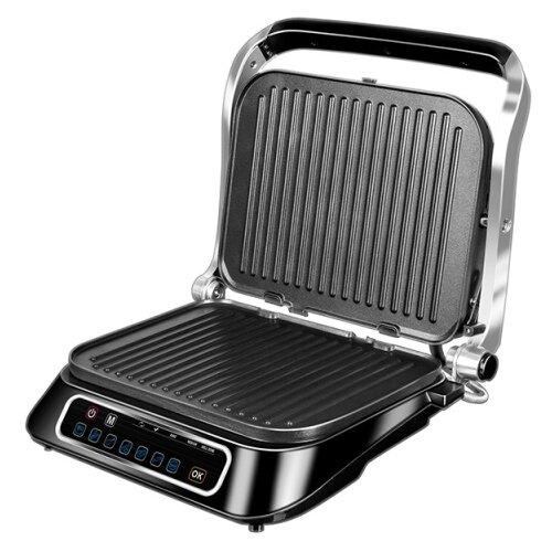 Гриль REDMOND SteakMaster RGM-M807 черный/серебристый