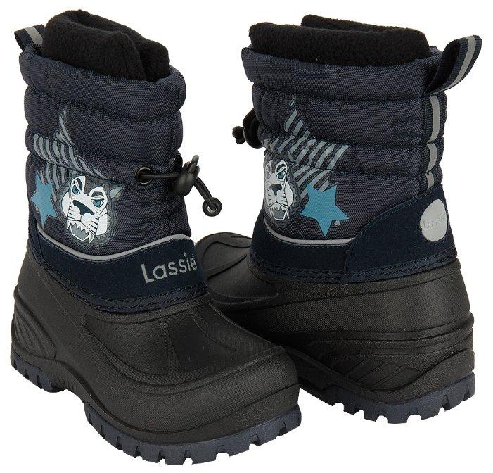 Сноубутсы Lassie by Reima Coldwell черный, для малышей, размер 24