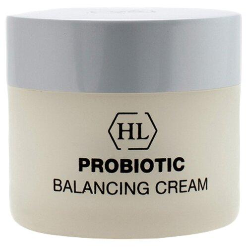 Holy Land Probiotic Balancing Cream Смягчающий успокаивающий крем для лица с пробиотическим комплексом, 50 мл holy land avocado cream классический смягчающий увлажняющий крем для лица с успокаивающим и легким антикуперозным эффектом 250 мл