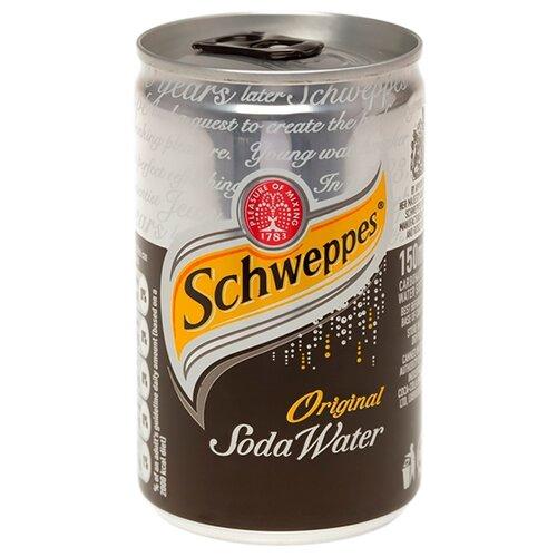 Газированный напиток Schweppes Soda Water, 0.15 л