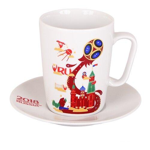 Дулёвский фарфор Чашка чайная с блюдцем РоссияКружки, блюдца и пары<br>