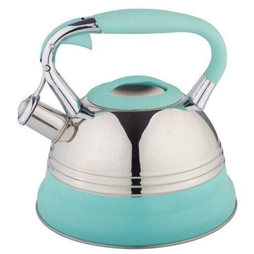 Bohmann Чайник BH-9921 3 л, голубой bohmann чайник bh 9911 3 л оранжевый