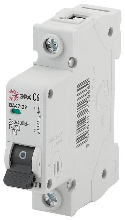Автоматический выключатель ЭРА ВА 47-29 1P (C) 4,5kA