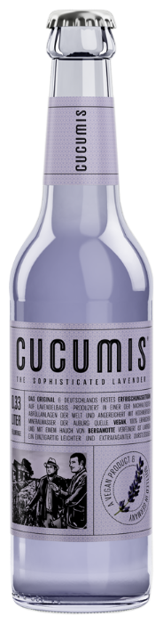 Лимонад Cucumis The Sophisticated Lavender (Лаванда), 0.33 л