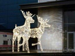 Новогодний декор и аксессуары - Световой лось, 0