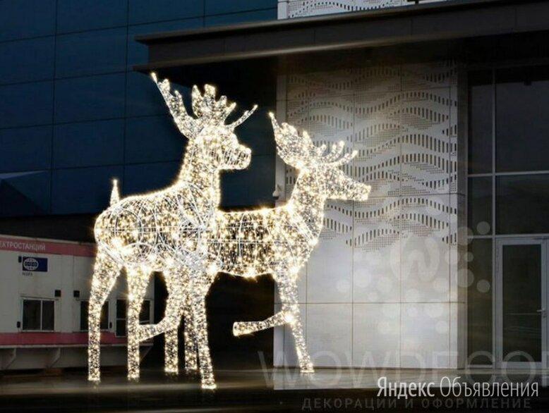 Световой лось по цене 440000₽ - Новогодний декор и аксессуары, фото 0