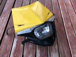 Электрика и свет - Фара для кросс эндуро мотоцикла, 0