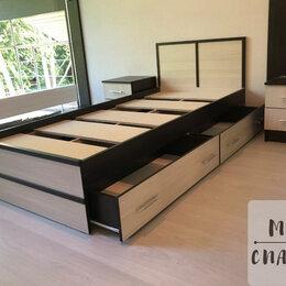 Кровати - Кровать односпальная с ящиками , 0