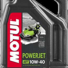 Масла, технические жидкости и химия - Масло моторное MOTUL (Мотюль) Powerjet 4T, SAE 10W - 40 (4л), 0