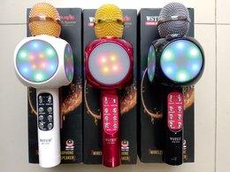 Микрофоны - Светящиеся микрофоны WSTER WS-1816 оригинал, 0
