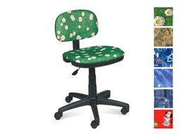 Компьютерные кресла - Кресло Сеньор без подлокотников ромашки, 0