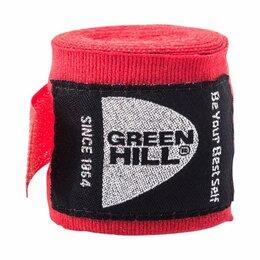 Аксессуары и принадлежности - Бинт боксерский Green Hill BP-6232c 3,5м красный, 0
