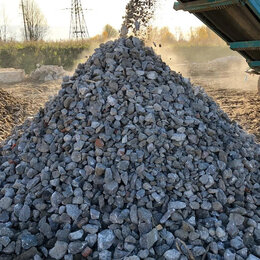 Строительные смеси и сыпучие материалы - дробленный бетон, 0