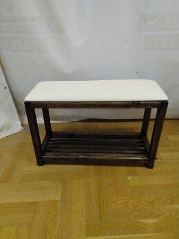Банкетки и скамьи - Обувница подставка банкетка, 0
