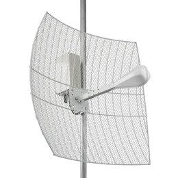 Антенны и усилители сигнала - параболическая 4G MIMO антенна 24 дБ с гермобоксом, 0