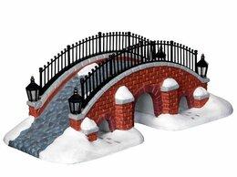 Новогодние фигурки и сувениры - Фигурка 'Заснеженный мостик', 7.7х20.2х95 см,…, 0