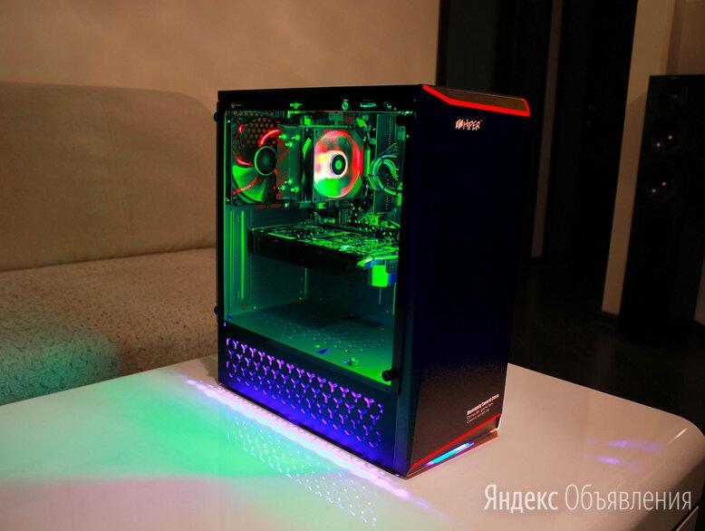 Красивый игровой компьютер Ryzen 7 по цене 47000₽ - Настольные компьютеры, фото 0