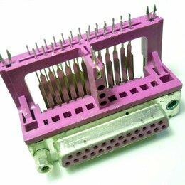 Компьютерные кабели, разъемы, переходники - Разъем последовательного порта 25 (12+13) pin, Female (розетка), 0