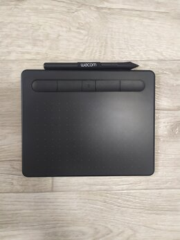 Графические планшеты - Графический планшет Wacom intuos S bluetooth, 0