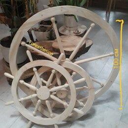 Другое - Колесо  люстра деревянное штурвал заготовка, 0