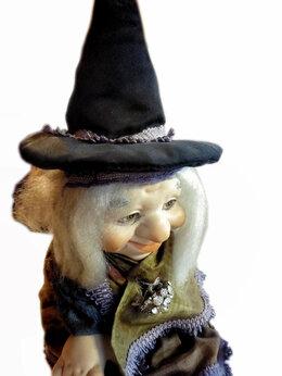 Статуэтки и фигурки - Авторская кукла Гном весёлый, 0