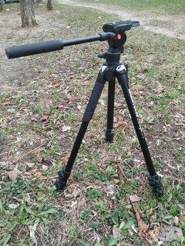 Штативы и моноподы - Штатив Manfrotto 290 light, видео голова, 0