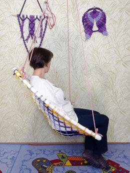 Подвесные кресла - Гамак кресло подвесное уличный  дачный крепкий…, 0