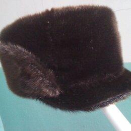Головные уборы - шапка норка р.56см, 0