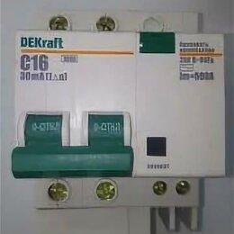 Защитная автоматика - DEKraft ДИФ-101 Дифф. автомат 2Р 16А 30мА тип AC (С) 4,5кА, 0