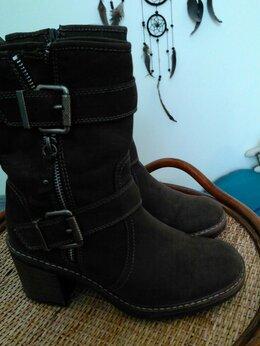 Ботинки - Ботинки искусственная замша, 0