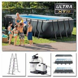 Бассейны - 26356 Каркасный бассейн Intex Ultra Frame, 549 х 274 х 132 см, 0