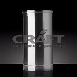 Дымоходы - Сэндвич дымоход Craft Profi 500 (316/0,5/304/0,5) Ф200х300, 0