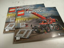 Конструкторы - Инструкции от Lego 42082 и 42122, 0