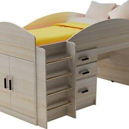 """Кровати - Кровать-чердак мини с рабочей зоной """"Алиса"""", 0"""