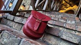 Сумки - Кожаная сумка (юфть шорно- седельная), 0