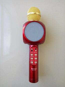 Микрофоны - Караоке-микрофон светящийся WSTER WS-1816 Red, 0