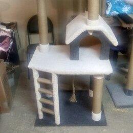 Когтеточки и комплексы  - Когтеточка дом для кошки игровая зона хобби, 0