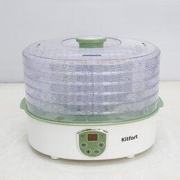 Сушилки для овощей, фруктов, грибов - Сушилка для овощей Kitfort KT-1902, 0