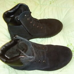 Ботинки - Зимние ботинки мужские  Alessio Nesca р. 44, замша, 0