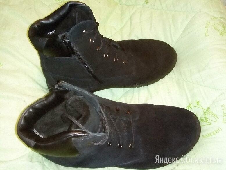 Зимние ботинки мужские  Alessio Nesca р. 44, замша по цене 1700₽ - Ботинки, фото 0