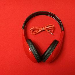 Компьютерная акустика - Наушники Perfeo FANCY полноразмерные черные/красные, 0